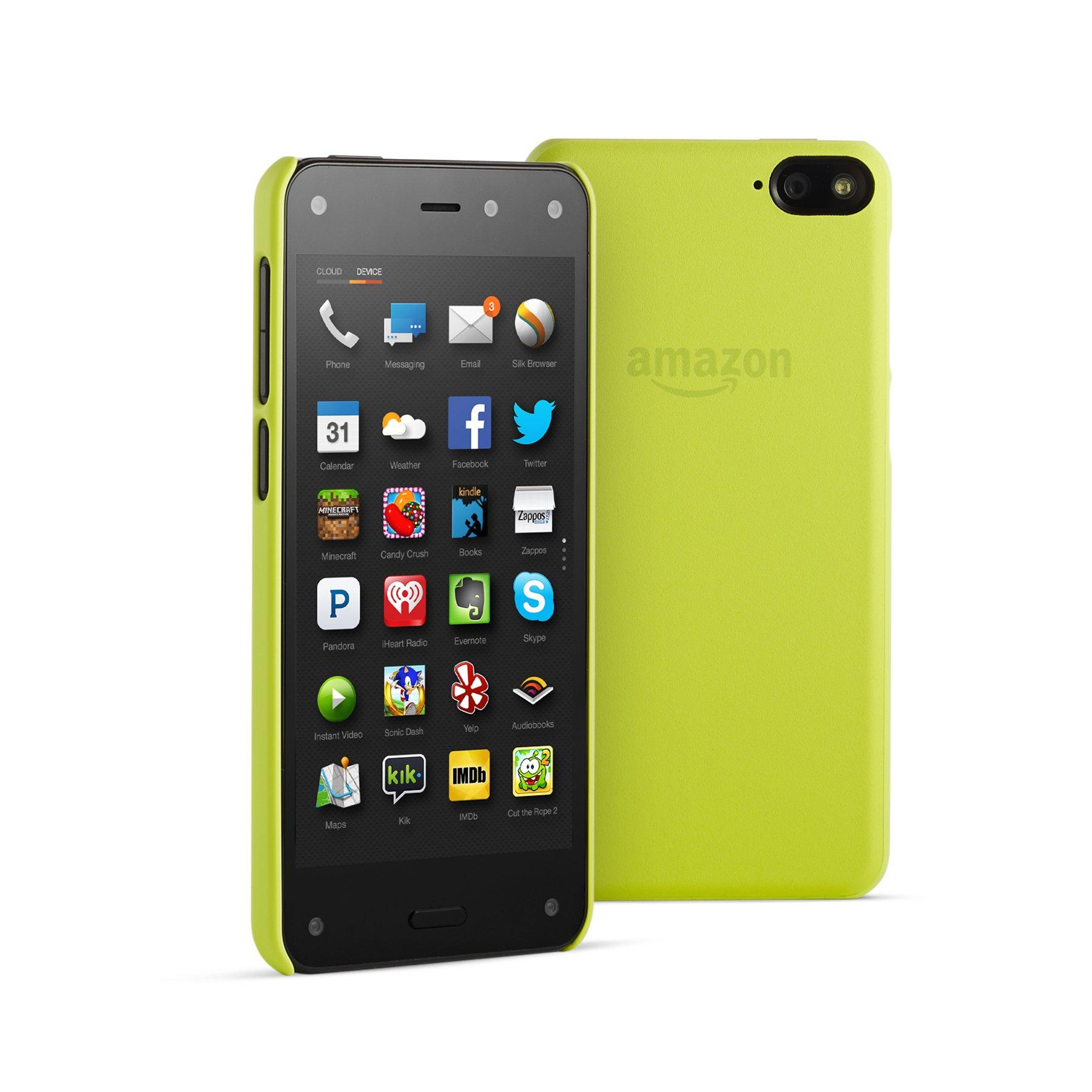 Amazon Polyurethane Case for Fire Phone, Citron