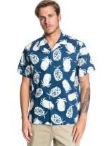 Quiksilver Men's Pineapple Web Short Sleeve Woven Top