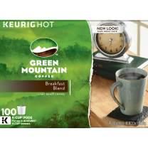 Green Mountain Decaffeinated Coffee, Breakfast Blend (100 K-Cups)