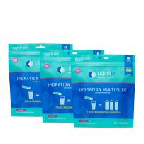 Liquid I.V. Hydration Multiplier, Electrolyte Powder, Easy Open Packets, Supplement Drink Mix (Acai Berry) (48)