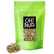 Oh! Nuts Pepitas Raw Unsalted Pumpkin Seeds | All-Natural Protein Power | Fresh, Healthy Keto Snacks | Resealable 5-Pound Bulk Bag | Shelled and Sprouted Pepitas | Vegan & Gluten-Free Snacking