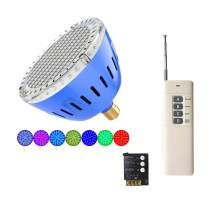 Inground LED Pool Lights Bulb Multi Color and Color Show with Super Wide Remote Control kit 120VAC