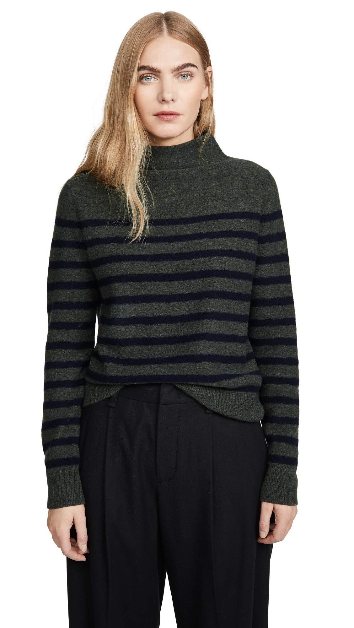 Vince Women's Brenton Stripe Cashmere Sweater