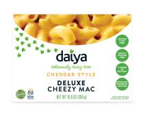 Daiya Cheezy Mac, Cheddar Style :: Rich & Creamy Plant-Based Mac & Cheese :: Deliciously Dairy Free, Vegan, Gluten Free, Soy Free :: Whole Grain Gluten Free Noodles, 10.6 Oz. Box (2 Pack)