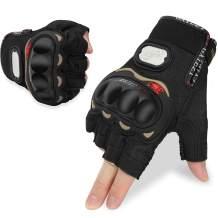 YESURPRISE Cycling Gloves Bicycle Gloves, Half Finger Mountain Bike Gloves Anti-Slip Shock-Absorbing Breathable MTB Biking Gloves for Men Women
