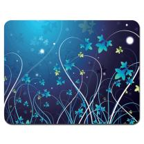 Meffort Inc Standard 9.5 x 7.9 Inch Gaming Mouse Pad - Blue Swirl