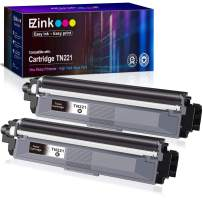 E-Z Ink (TM) Compatible Toner Cartridge Replacement for Brother TN221 B Black to use with HL-3140CW HL-3170CDW MFC-9130CW MFC-9330CDW MFC-9340CDW HL-3180CDW DCP-9020CDN Laser Printer (Black, 2 Pack)
