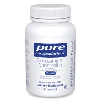 Pure Encapsulations Glucosamine Chondroitin with MSM | Supplement to Support Cartilage, Connective Tissue, and Joint Health* | 60 Capsules