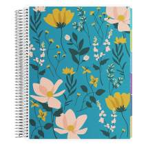 Erin Condren 12 - Month 2020-2021 Wild Flower Teacher Lesson Planner (July 2020-June 2021) - Kaleidoscope Interior Design, 210 Pages of Planning Potential