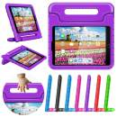 """greatgo Case Compatible with Pad Kids 9.7in Air 1 2 Case Shockproof Childproof Lightweight with Convertible Handle Stand Tablet Case for 6th 5th Generation iPad 9.7"""" Air Case Purple"""
