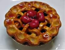 Cherry Pie Novelty Candle - Made by The Candle Chef