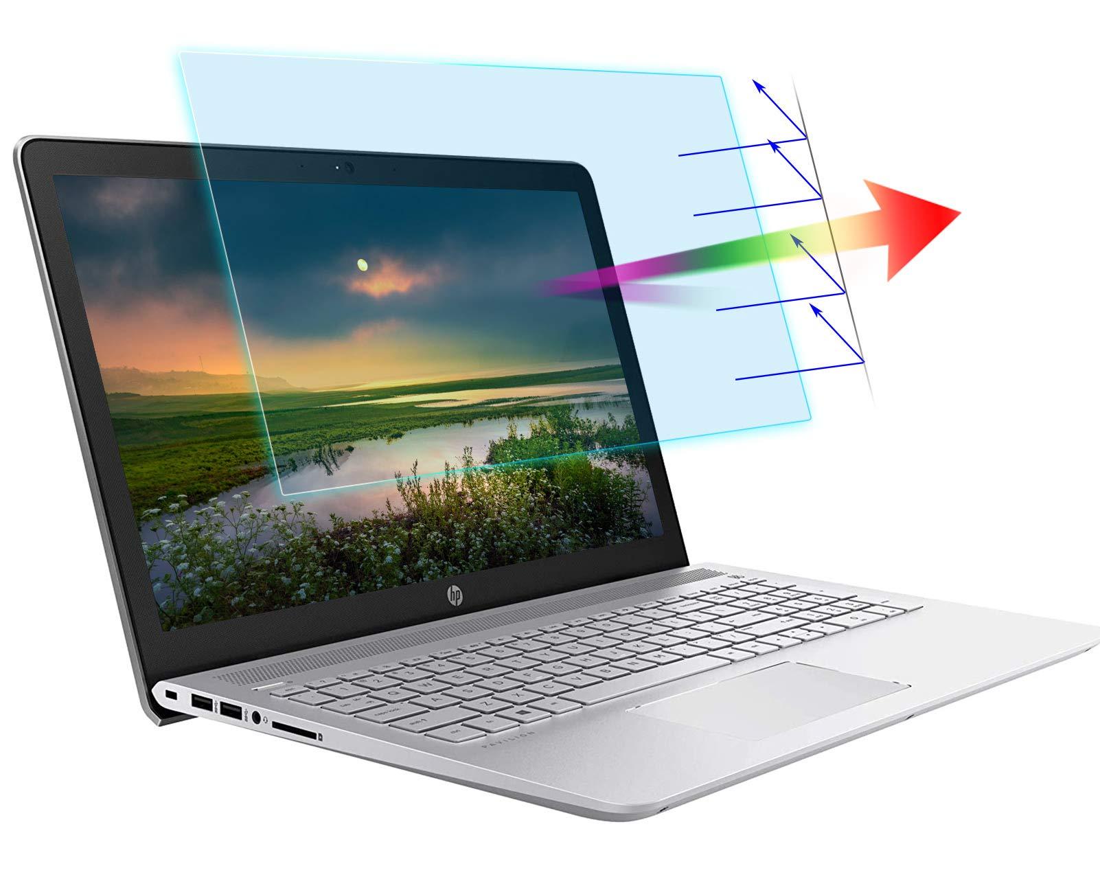 "AntiBlueLight Anti Glare Screen Protector Fit 14 HP Pavilion X360 /HP 14"" Laptop / HP Chromebook 14""/ HP Stream 14 / HP ProBook 14 / HP Stream 14,Eyes Protection Filter Block UV Blue Light Blocking Screen Protector"