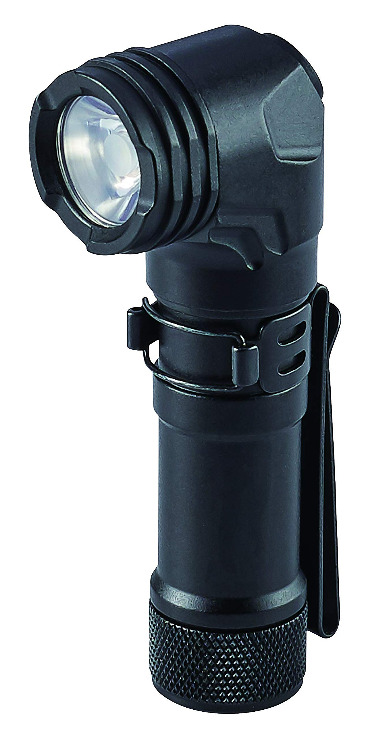 Streamlight 88087 ProTac 90 Right-Angle Light with CR123A Lithium Battery and AA Alkaline Battery - Clam