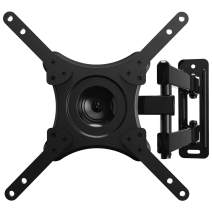 JUSTSTONE Full Motion TV Wall Mount for 22-42Inch LED, LCD, OLED Flat Screen TVs Monitor,Small Mount with Swivel Articulating Arm Sturdy VESA Up to 200x200mm and 35 lbs/15kg Fit Single Stud