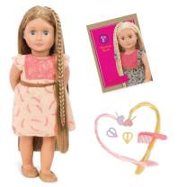 "Our Generation Doll by Battat- Portia 18"" Non-posable Hair Play Fashion Doll- for ages 3 and up"