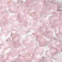 0.75 inch Recycled Crushed Fire Glass - Pink Ice (20 lbs)
