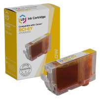 LD Compatible Ink Cartridge Replacement for Canon BCI6Y 4708A003 (Yellow)
