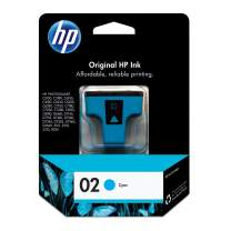 HP 02   Ink Cartridge   Cyan   C8771WN