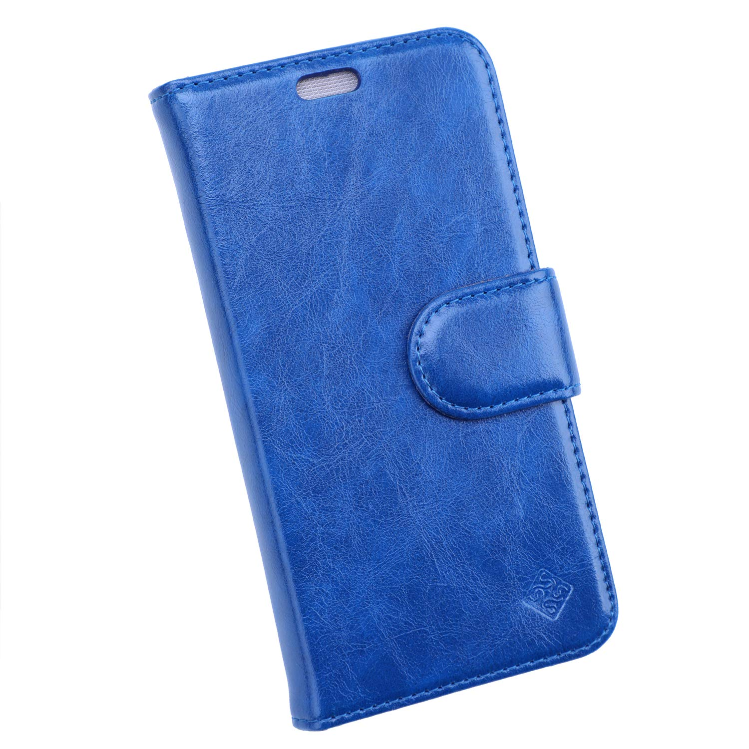 Sanxir Anti-Radiation Case, EMF and RF Protection Wallet Case Against Drops and Bump for iPhone Xs and iPhone X with A New Classes of Nanoscale Graphene-Based Materials, with RFID Protection. (Blue)