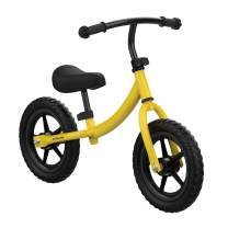 TRIPLE TREE Balance Bike for Toddlers and Kids, Kids Training Bicycle with Inflation-Free EVA Tires, Adjustable Handlebar and Seat for Toddlers 2 Years to 5 Years