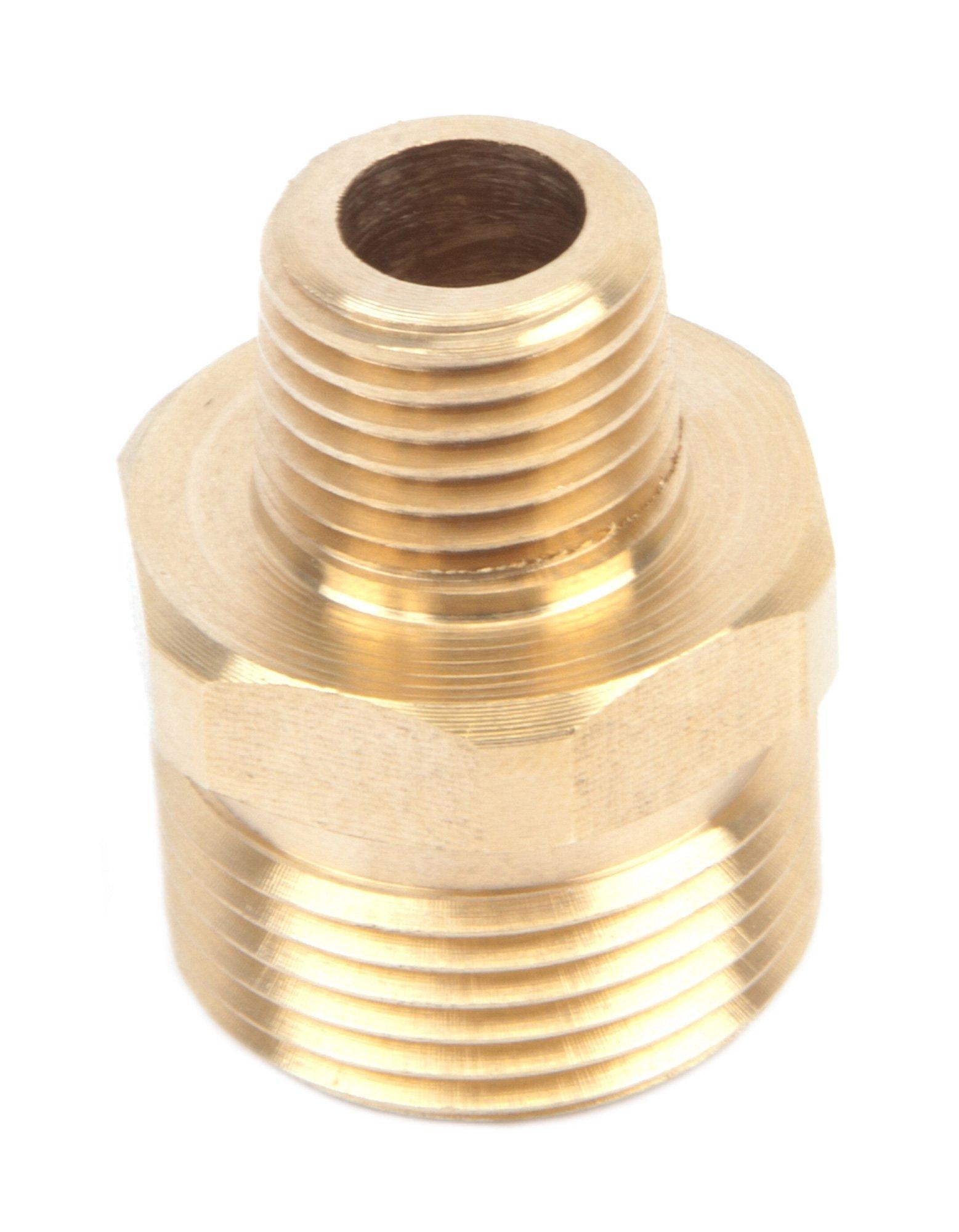 Forney 75115 Pressure Washer Accessories, Male Screw Nipple, M22M to 1/4-Inch Male NPT