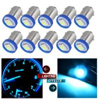 cciyu BA9S LED Bulb1895 Dash Instrument Panel Cluster Ash Tray Light 1815 1816 182 1889 1891 1892 Replacement fit for Instrument panel Glove box License plate Boat cabin lamp Blue (10Pack ice blue)