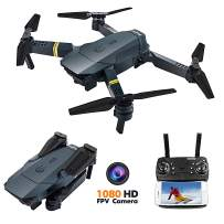 FCONEGY FPV Drone with 1080P HD Camera RC Quadcopter Altitude Hold by Air Pressure One Key Take Off/Landing Helicopter Mobilephone Remote Model Airplane with LED Night Light Toy