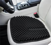 GRULLIN Gel Car Seat Cushion Silicone Massage Office Chair Pad Waterproof Non-Slip Comfort Auto Seat Pad