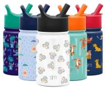 Simple Modern Summit Straw Kids, 10 Ounce, Minnie: Dots