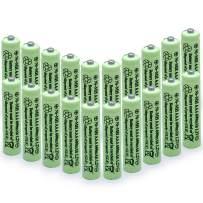 QBLPOWER Solar Light Batteries AAA Triple A NiMH 600mAh 1.2V Rechargeable for Garden Solar Lights Remotes Mice(20Pcs)