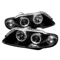 Spyder Auto Pontiac GTO Black Halogen LED Projector Headlight