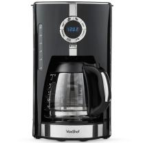 VonShef Digital Filter Coffee Maker Brewer, 12 Cup Machine with Glass Carafe, features Programmable Timer, Brew Strength Settings and Digital Display, 975W