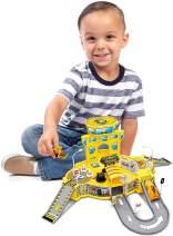 World Tech Toys Diecast Cruisers 31-Piece Construction Depot Playset