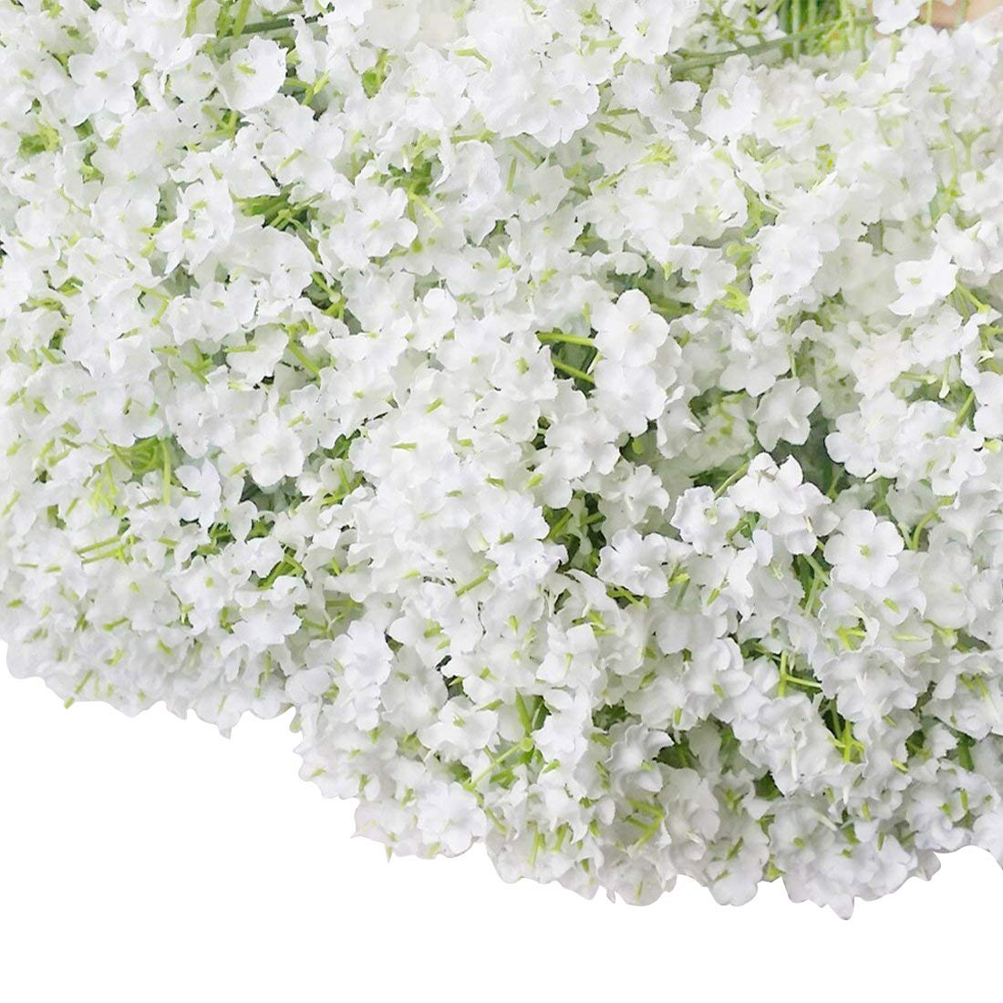 Bringsine Baby Breath/Gypsophila Wedding Decoration White Colour Real Touch Artificial Flowers 30 pieces/lot
