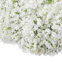 Bringsine Baby Breath Gypsophila Wedding Decoration White Colour Silk Artificial Flowers 20 Pieces/lot