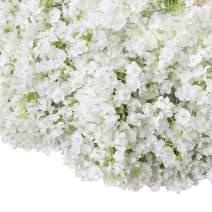 Bringsine Baby Breath Gypsophila Wedding Decoration White Colour Silk Artificial Flowers 20 Pieces/lot