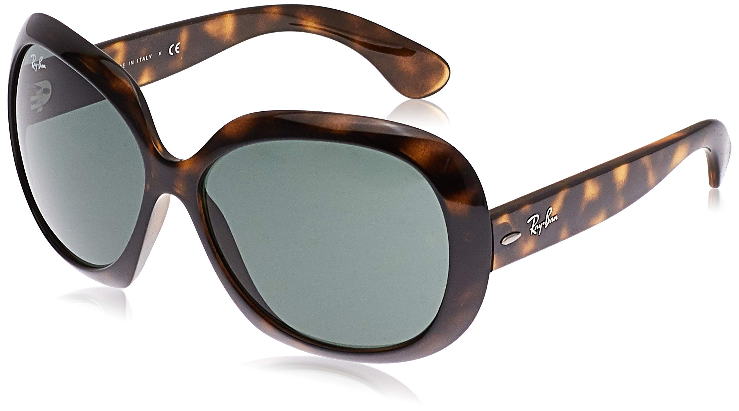 Ray-Ban womens Rb4098 Jackie Ohh Ii Oversized Sunglasses Butterfly Sunglasses