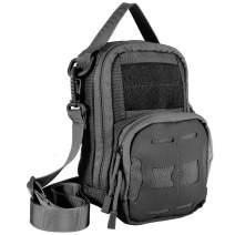 vAv YAKEDA Tactical EDC Pouch Bag Waist Bags Pouch for Men Molle Military Belt Pouch Shoulder Bag
