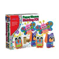 SadoCrafts Paper Sleeve Making Kit – Your Kids' Perfect Choice, Fun, Splashy, Simple and Do-It-Yourself Art Activity