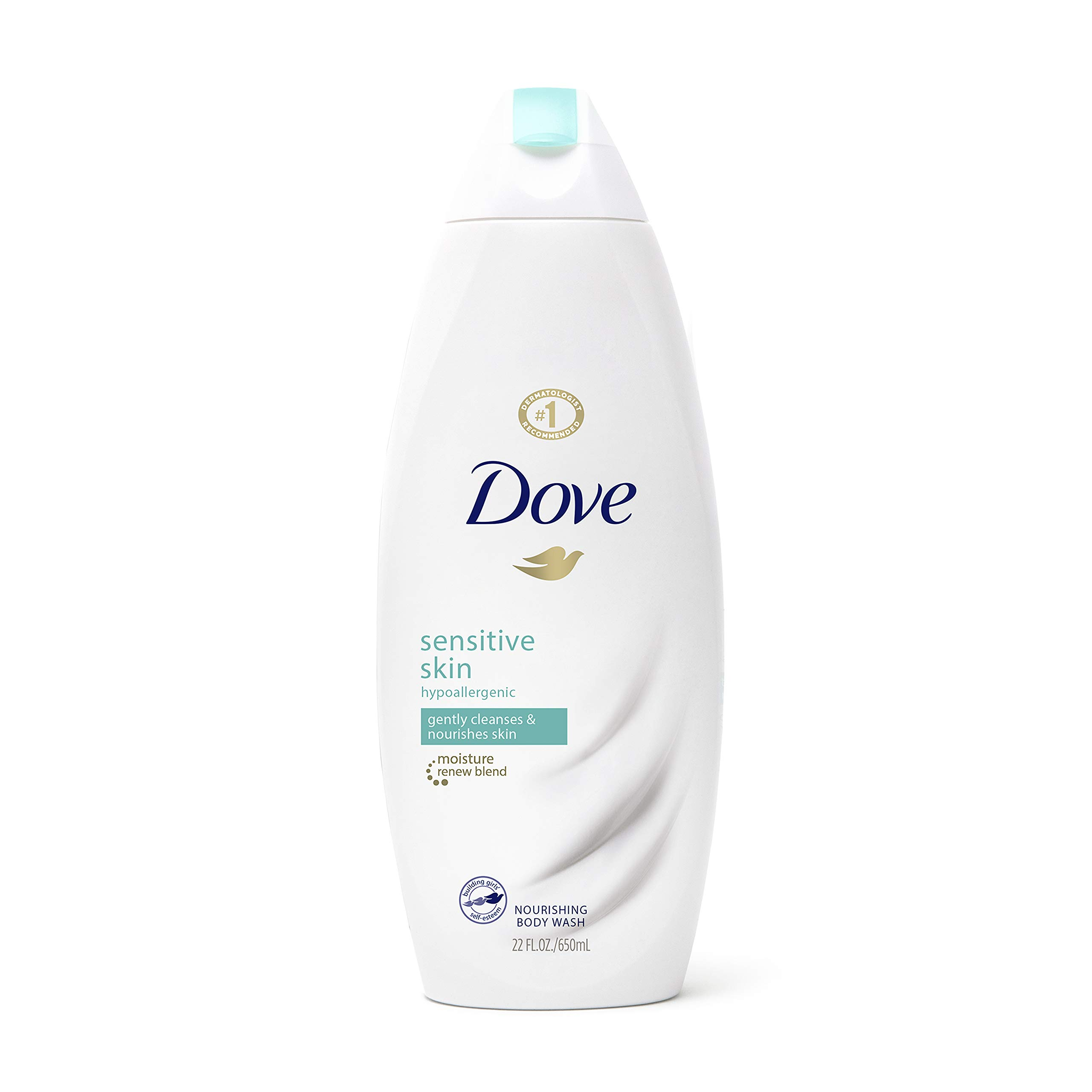 Dove Body Wash For Softer and Smoother Skin Sensitive Skin Hypoallergenic and Sulfate Free Body Wash 22 oz