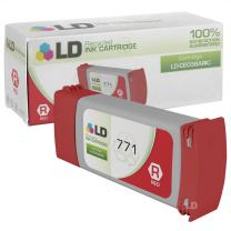 LD Remanufactured Ink Cartridge Replacement for HP 771 CE038A (Red)