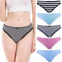LYYTHAVON Women's Cotton Underwear Briefs Breathable Ladies Panties