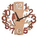 Giftgarden Tree Shaped Wall Clock Wood Decorations Housewarming Clocks
