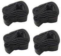 Unique Imports Heavy Duty Schrader Bicycle Inner Tubes Cycling Valve Bike Tube Cruiser