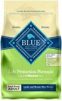 Blue Buffalo Life Protection Formula Small Breed Dog Food – Natural Dry Dog Food for Adult Dogs – Lamb and Brown Rice – 6 lb. Bag, Model:367