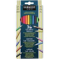 Sargent Art 22-7236 36-Count Assorted Colored Pencils