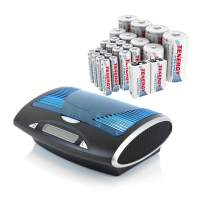 Tenergy T9688 LCDAA/AAA/C/D/9V NiMH/NiCd Battery Charger+ Premium 26-CellNiMH Rechargeable Battery8AA/8AAA/4C/4D/2 9V Batteries