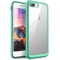 SUPCASE Unicorn Beetle Style Case Designed for iPhone 8 Plus, Premium Hybrid Protective Clear Bumper Case [Scratch Resistant] for Apple iPhone 7 Plus 2016 / iPhone 8 Plus 2017 Release - Green