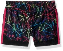 Under Armour Kids Girl's Polyprism Sprint Shorts (Little Kids)