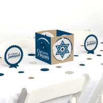Big Dot of Happiness Happy Passover - Pesach Jewish Holiday Party Centerpiece and Table Decoration Kit